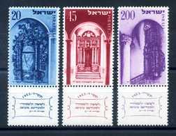 1953 ISRAELE SET MNH ** - Nuovi (senza Tab)