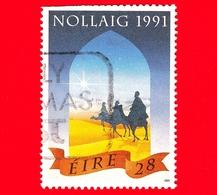 IRLANDA - Usato - 1991 - Natale - I Tre Re Magi Seguono La Stella - 28 - Vedi ... - 1949-... Repubblica D'Irlanda