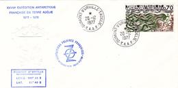TIMBRE DE COLLECTION TAAF N° 72 Algues Durvillea @ 1ER JOUR Sur ENVELOPPE - Covers & Documents