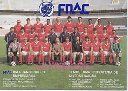 Portugal - S.L.e BENFICA -1987/1988 - Taça Dos Campeões Europeus. - Football