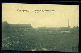CPA  WERVICQ SUD  ENTREE DE LA FABRIQUE PLOVIER    W28 - France
