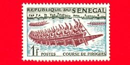 Nuovo - MNH - SENEGAL - 1961 - Sport - Canoa - Navi - Corsa Delle Pirogues -  1 - Senegal (1960-...)