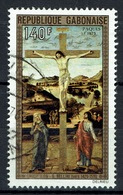 Gabon, Easter, Giovanni Bellini, Italian Renaissance Painter, 1975, VFU  Airmail - Gabon (1960-...)