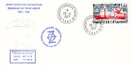 TIMBRE DE COLLECTION TAAF N° 70 THALA DAN Bateau @ 1ER JOUR Sur ENVELOPPE - Covers & Documents