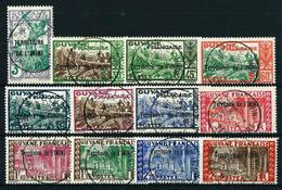 Inini (Francés) Nº 36/47 USADO - Used Stamps