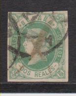 Año 1862 Edifil 62 Sello 2r Isabel II Matasellos Varios - 1850-68 Kingdom: Isabella II