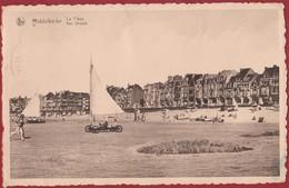 Middelkerke Plage Strand Char à Voile Zeilwagen Strandsegeln - Middelkerke