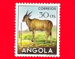 ANGOLA - Usato - 1953 - Fauna Africana - Animali - Antilope (Taurotragus Oryx) - 30 - Angola