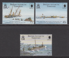 2000 British Antarctic Territory Shackleton Explorer Complete Set Of 3 MNH - Ungebraucht