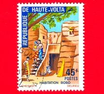 ALTO VOLTA - Usato - 1972 - Costruzioni Locali - Bobo-House - 45 - Alto Volta (1958-1984)