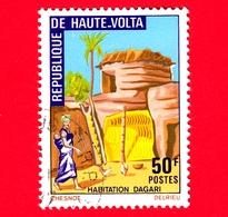 ALTO VOLTA - Usato - 1972 - Costruzioni Locali - Dagari-House - 50 - Alto Volta (1958-1984)