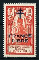 India (Francesa) Nº 181 (segunda Tirada) Nuevo* - Indien (1892-1954)