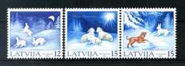 2001 LETTONIA SET MNH ** - Lettonia