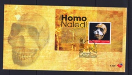 12.- SOUTH AFRICA 2018 FDC SKULL HOMO NALEDI FOSSIL - Arqueología