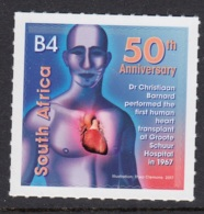 3.- SOUTH AFRICA 2018 50TH ANNIVERSARY OF FIRST HEART TRANSPLANT - Medicine