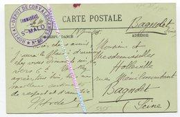 35 SAINT MALO / 1915 / CPA / TAMPON / CACHET / HÔPITAL N°86 / DÉPÔT DE CONVALESCENTS - Saint Malo