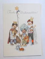 """""""Weihnachten, Kinder, Heilige Drei Könige"""" 1950 ♥  - Natale"""