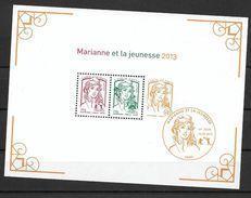 France 2013 Bloc 133  Marianne De La Jeunesse état Luxe à La Faciale - Blocs & Feuillets