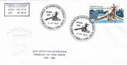 TIMBRE DE COLLECTION TAAF N° 77 De 1978 - Hommage Aux Navigateurs Français @ 1ER JOUR Sur ENVELOPPE - Briefe U. Dokumente