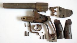 Pièces Détachées De Pistolet Lance-fusée Allemand Hebel -WW1 - 1914-18