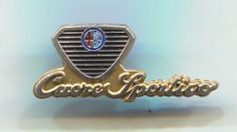 ALFA ROMEO CUORE SPORTIVO CLUB - Car, Auto, Automotive, Vintage Pin, Badge, Abzeichen - Alfa Romeo