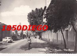 CIMITILE - VIA ROMA F/GRANDE VIAGGIATA 1960 ANIMAZIONE - Napoli