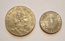 MEXICO. 5 PESOS / 50 CENTAVOS 1977. AUNCIRCULATED. MEXIQUE. - Mexico