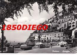 POSITANO - SPIAGGIA F/GRANDE VIAGGIATA 1960 ANIMAZIONE - Salerno