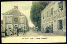 Cpa Du 27 Doit épicerie Tabacs - Villegast -- Carrefour  -- Canton Pacy Sur Eure Arrd Evreux   CC2 - Pacy-sur-Eure