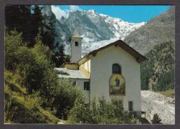 67870/ COURMAYEUR, Notre-Dame De La Guérison, M. Bianco Ed Il Ghiacciaio Della Brenva - Italy