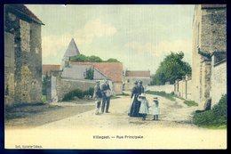 Cpa Du 27  Villegast  Rue Principale   CC2 - Pacy-sur-Eure