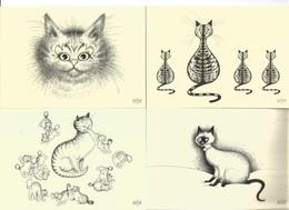 CHAT CPM Lot De 27  Illustrateur Albert DUBOUT - Dubout