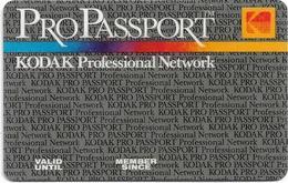 Greece - KODAK ProPassport Professional Newtwork Member Card - Andere Sammlungen
