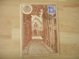 Guerre 39.45 Pour Nos Prisonniers Saint Maur Des Fosses Exposition Philatelique Sur Lettre - Guerre De 1939-45