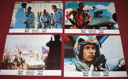 Sam Shepard THE RIGHT STUFF Ed Harris 4x Yugoslavian Lobby Cards - Foto's