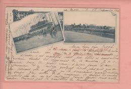 OLD POSTCARD  1900'S - CZECH REPUBLIC - PARDUBICE - HORSE RACE - Czech Republic