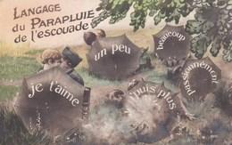 Langage Du Parapluie De L'escouade - Otros