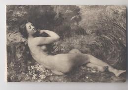 Georges Callot - Salon De 1899 - Rêve De Cigale - Femme Nue - Peintures & Tableaux
