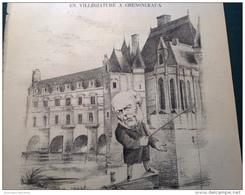 """1882 Mr GREVY À CHENONCEAUX / CONGRÈS DES POTACHES / COMÉDIE FRANÇAISE """" LES BANTZAU """" / LE MONDE PARISIEN - Journaux - Quotidiens"""
