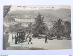 MONTE CARLO Place Du Casino Attelage Hôtel De Paris - Monte-Carlo
