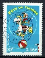 France, Lucky Luke, Stamp Day, 2003, VFU Superb Postmark From Pornichet - France