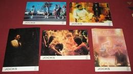 Scott Strader JOCKS Perry Lang  5x Yugoslavian Lobby Cards - Foto's