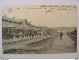 ANS La Gare Vers Le Réseau - Ans