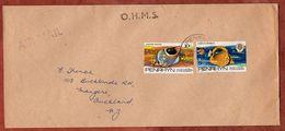 Luftpost, Fische, Penrhyn Nach Auckland 1980? (71833) - Penrhyn