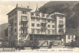 CPA Suisse Val D'Anniviers Zinal Hôtel Des Diablons - VS Valais