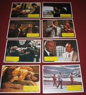 Senta Berger SWISS CONSPIRACY David Janssen 8x Yugoslavian Lobby Cards - Foto's