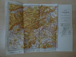 Carte Vosges Vallée Sup Supérieure De La Bruche 88 Vosges - Cartes Topographiques