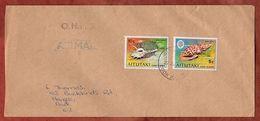 Luftpost, Muscheln, Aitutaki Cook Islands Nach Auckland 1980? (71834) - Aitutaki