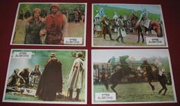 Sergei Tarasov IVANHOE (USSR Version)  4x Yugoslavian Lobby Cards - Foto's