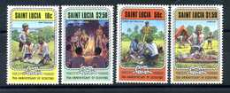 1982 SAINT LUCIA SET MNH ** Scout Scouting - St.Lucia (1979-...)